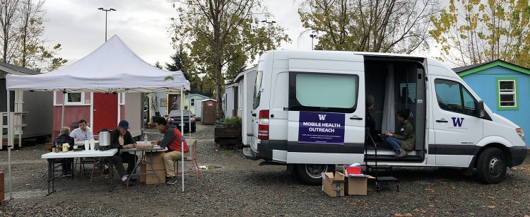 UW Mobile Health Outreach van.