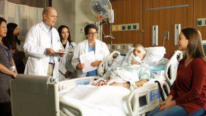 UWMC Advanced Heart Failure Team Demonstrating Structured Interprofessional Bedside Rounds